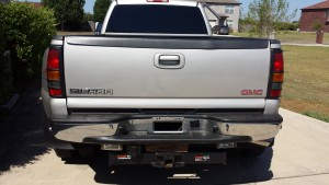 2005 original factory rear bumper.